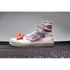 brand new dceb9 6b21b OFF-White X Nike Schuhe - Billig OFF White X CO Virgil Abloh 18SS Low 3.0  Weiss Rosa Schuhe Outlet. Running Shoes ...