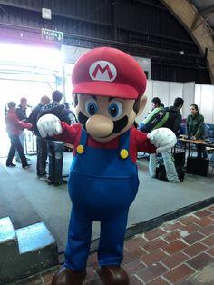Foto de Mario Bros [Campus Party 2011] especialmente para #SantaMartaViva