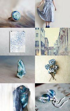 ♥ magical blue ♥ by Betula Alba on Etsy--Pinned with TreasuryPin.com
