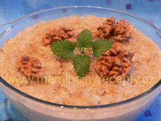 Medovo-ořechová rýže