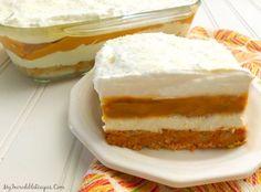 Pumpkin Cheesecake Lasagna!