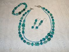 Very Lovely Necklace Bracelet and Earring by SandiesGiftCorner, $18.95