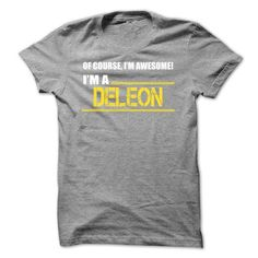 I am a DELEON-cqkktzjkxo - #gift for guys #day gift. SECURE CHECKOUT => https://www.sunfrog.com/Names/I-am-a-DELEON-cqkktzjkxo.html?68278