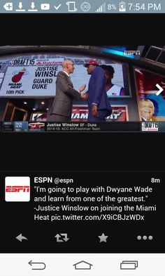 Justice Winslow Miami Heat