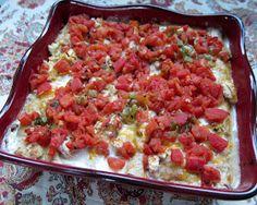 Plain Chicken: Chicken Chalupas Casserole