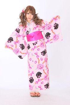 so adorable kitty kimono japan