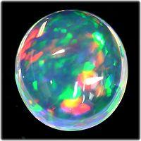 Beautiful Crystal Opal #Gemstones #CrystalOpal