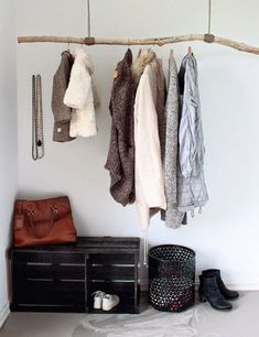 DIY | branch and rope