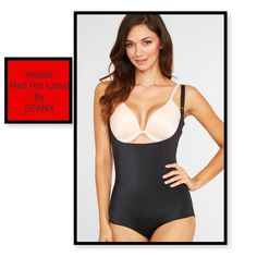 SPANX Assets RHL Silhouette Serums Open Bust SPANX Assets Red Hot Label  Silhouette Serums Open Bust Body Shaper Open bust style works with any bra. 57bc0efe7