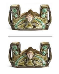 Art Nouveau, Porcelain, Ceramics, Glass, Ceramica, Porcelain Ceramics, Pottery, Drinkware, Corning Glass