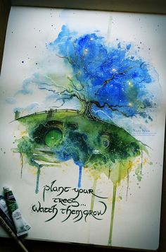 Oak Tree by Kinko-White on DeviantArt