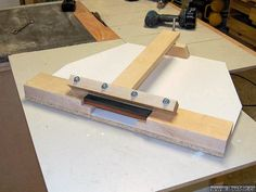 Making A Planer / Jointer Knife Sharpening Jig