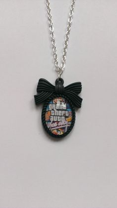 Grand Theft Auto GTA Vice City necklace