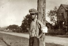October 1913. Cuero, Texas. John Huggins. Said he is 14 years old and has been doffing for eight months in the Guadalupe Valley Cotton Mills. Gets a dollar a day now. Before he came here, he worked in the cotton mill at West, Texas, for five or six years. Said boys work in the Cuero mill under age. They dont even bother to ask your age. Didnt ask mine. Easy nuff to git a job. by Lewis Wickes Hine.