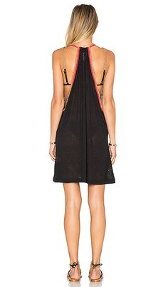 Shop for Pitusa Mini Sundress in Black & Fuchsia at REVOLVE. Free 2-3 day shipping and returns, 30 day price match guarantee.