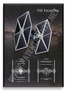 TIE Fighter, Star Wars Poster