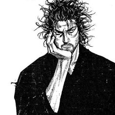 Vagabond Musashi Human Drawing, Manga Drawing, Martial Arts Manga, Vagabond Manga, Inoue Takehiko, Character Art, Character Design, Alone Photography, Fighting Poses
