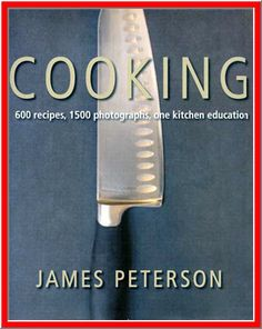 $3.50 - Put simply, Cooking is a revelation. No other cookbook so deftly illustrates as broad a scope of classic culinary methods and flavors as you'll find here. As a veteran chef and award-winning cookbook author, James Peterson is uniquely qualified to take food lovers into the modern kitchen and turn them into passionate, precise, intuitive cooks. What's most impressive about a book of this breadth and size (540 pages and 600 recipes, brought to life with 1500 vivid color photographs)
