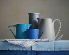 Super painting oil still life kitchens 51 Ideas Academic Drawing, Still Life Artists, Hyper Realistic Paintings, Still Life Images, Still Life Flowers, Kind Of Blue, Painting Still Life, Still Life Photography, Ceramic Pottery
