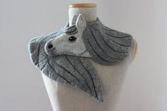 Winter is rapidly approaching (for some of us at least) and it's already time to start thinking about ways to keep warm during those long dark nights until Spring. And what better way to stay cozy than with these beautifully realistic felt animal scarves designed by Celina and Maja Debowska.
