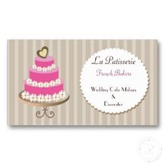 Pink wedding cake makers business cards on mgdezigns cake pink wedding cake makers business cards on mgdezigns reheart Choice Image