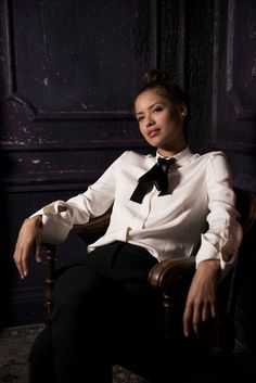 bb5358d6a0a Gugu Mbatha-Raw Poses at TIFF Photograph by Caitlin Cronenberg. Style  Icons