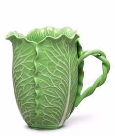For Mother's Day: Tory Burch Lettuce Ware Pitcher