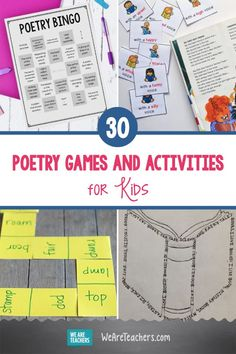 35 Poetry Games and Activities for Kids