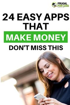 Here's a list of 24 easy apps that make money. All of these apps are incredibly easy to use and free to join. Make Quick Money, Make Money Blogging, Make Money From Home, Way To Make Money, Earn Money, Make Money Online, How To Make, Money Tips, Best Paid Online Surveys