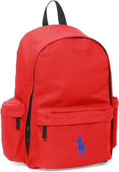 3a81fd9a5e2a Ralph Lauren Large Big Pony Backpack