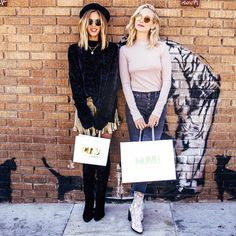 Shop 'til you drop like @kaylaewell & @craccola