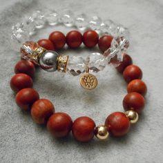 Clear Quartz Boho Stack from My Bohemia Jewelry
