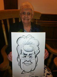 Barnsley Wedding caricatures