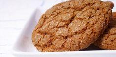 Gingersnaps (pinchofsugar). Ingredients: flour, ww flour, baking soda, salt, ginger, cinnamon, veg shortening, sugar, egg white, dark molasses