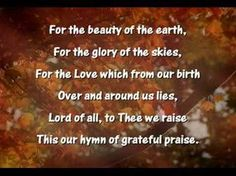 Thanksgiving Medley  Thanksgiving Medley    We gather together  to ask the Lord's blessing;  He chastens and hastens  His will to make known...
