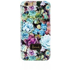 Harrods Cactus Flower iPhone 6 Case ($6.77) ❤ liked on Polyvore featuring accessories, tech accessories, phone cases, phone and cases