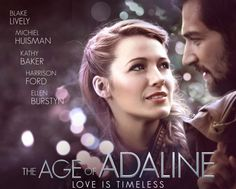 The beautiful US Drama, Romance Film (The Age of Adaline)Stars:Blake Lively, Michiel Huisman, Harrison Ford Love Movie, I Movie, Für Immer Adaline, Twilight Zone Episodes, Age Of Adaline, Romance Film, Chick Flicks, Harrison Ford, Enjoy Your Life