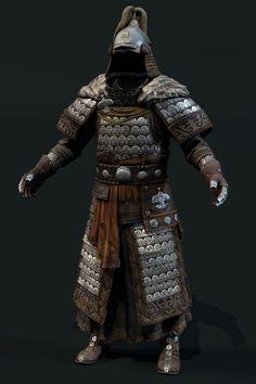 Mongol scale level up asset, Dmitriy Romodanovsky Viking Armor, Larp Armor, Samurai Armor, Medieval Armor, Armadura Medieval, Shoulder Armor Tattoo, Inspiration Drawing, Chinese Armor, Warrior Tattoos