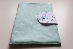 Wickeltasche selber nähen -  Geschenk Baby Shower -  einfache kostenlose Anleitung