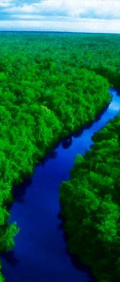 Giant amazon river