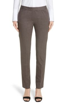 Lafayette 148 New York Lafayette 148 New York Irving Stretch Wool Pants (Nordstrom Exclusive) available at #Nordstrom