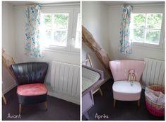 DIY - Relooker un fauteuil en cuir en le peignant (paint a leather chair)