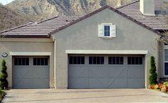 Garage Door Photo Gallery - Residential Wayne-Dalton 9700 series (lowes)...with carriage door hardware