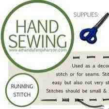 Hand Sewing Tutorials for Beginners