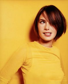 A bit younger; Lena Headey; none the less beautiful.