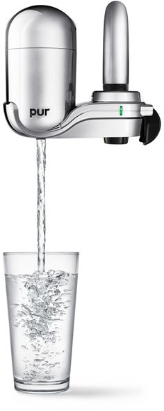 PUR Water Filter Review - I don't ever NOT have one of these hooked up on my kitchen faucet.