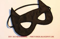Frk TURKIS: DIY: Batman-masker
