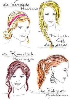 Frisuren für Silvester 2014 http://www.my-dress-codes.de/magazin/frisuren-fuer-silvester-2014/