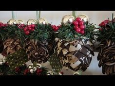 How to make folded fabric pine cone ornaments like the ones I did for the ornament exchange. You can use any selection of fabric for these; I used patterned fabrics with brown being the main color. You can also use ribbon instead of fabric.    What you'll need:  fabric (one fat quarter will yield you 2 ornaments)  rotary cutter  rotary mat  styrofoam ...