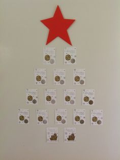 My door Christmas Tree Advent Calendar, Christmas Tree, Doors, Holiday Decor, Home Decor, Teal Christmas Tree, Decoration Home, Room Decor, Xmas Trees